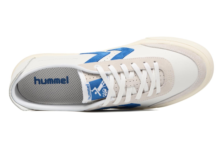 Imperial Blue Hummel Stockholm Low (Blanc)