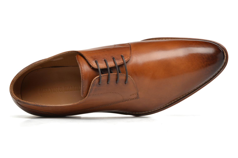 Chaussures à lacets Melvin & Hamilton Kane 2 Marron vue gauche