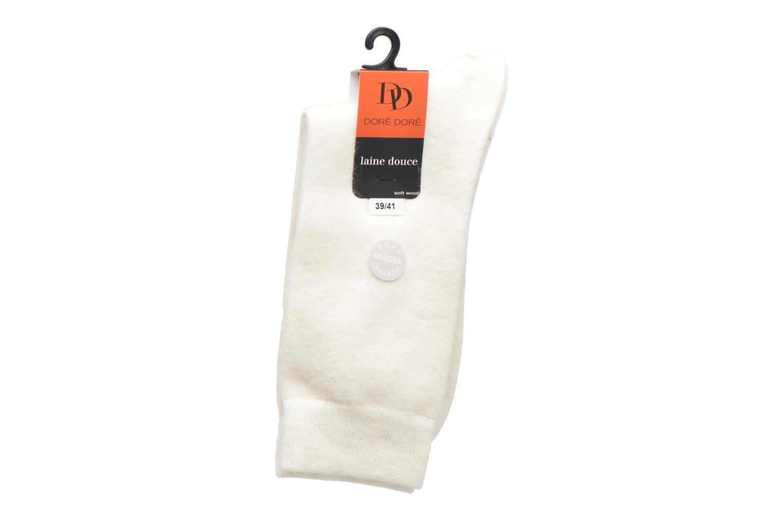 Chaussettes Femme Soft Angora Chiné 15921 IVOIRE