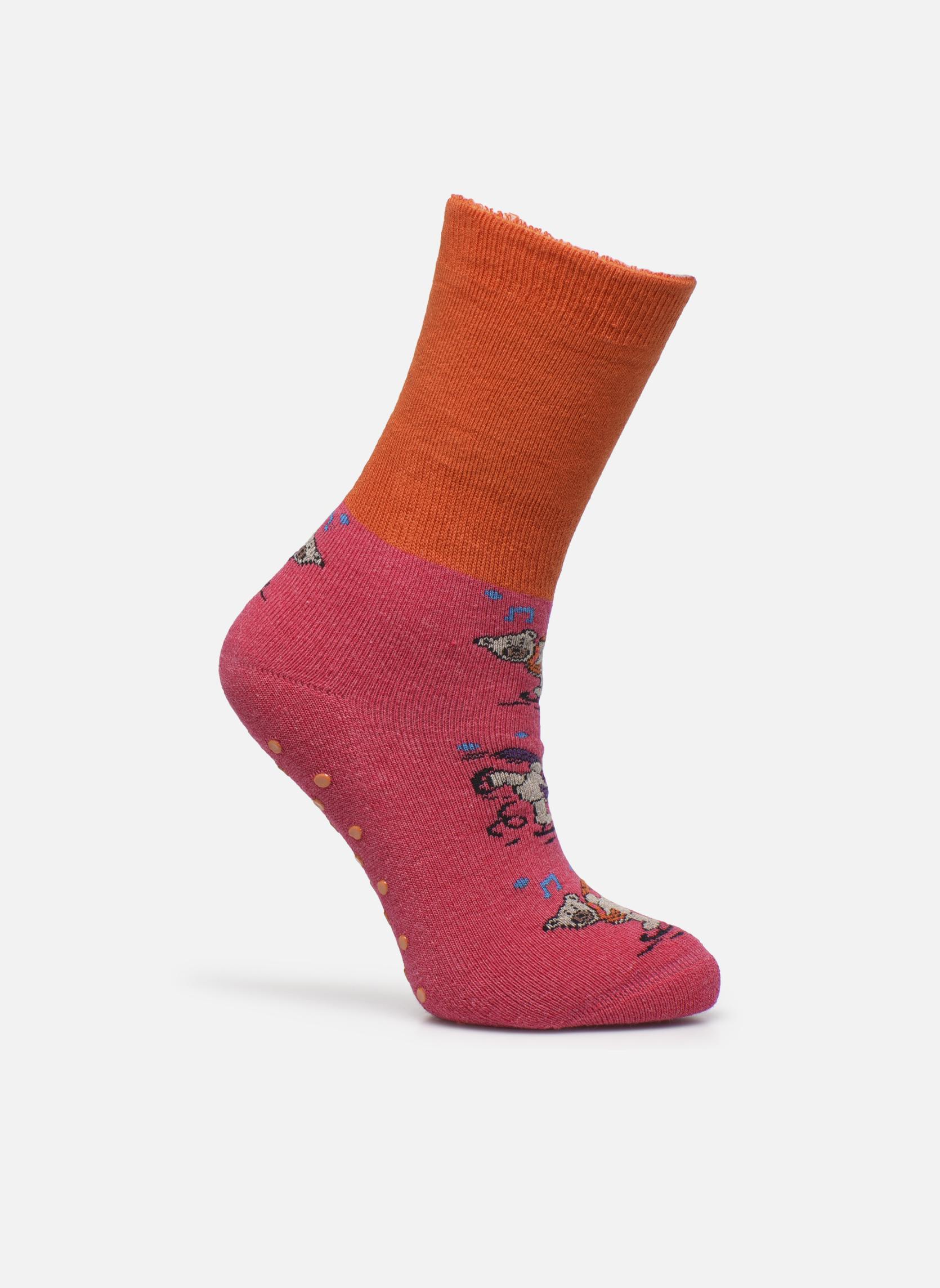 Calze e collant Accessori Chaussons-chaussettes Enfant Coton Anti-dérapants Ours