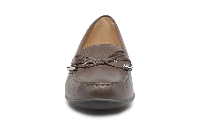 Mocassins Geox D YUKI A D6455A Gris vue portées chaussures