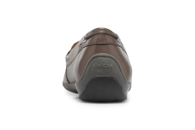 Loafers Geox D YUKI A D6455A Grå Se fra højre