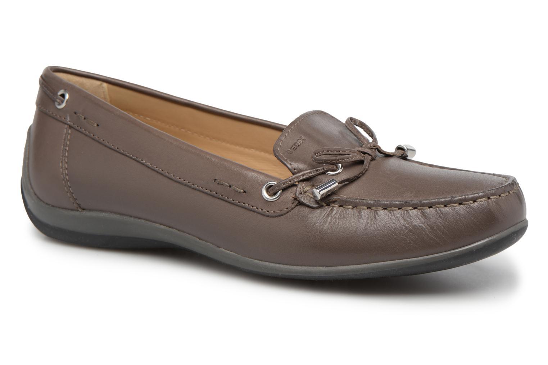 Loafers Geox D YUKI A D6455A Grå detaljeret billede af skoene