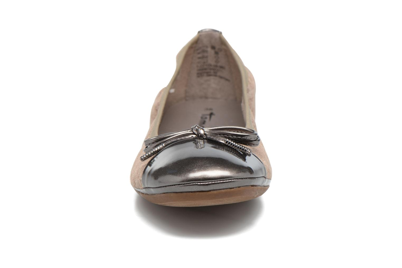 Ballerines Tamaris Althéa Beige vue portées chaussures