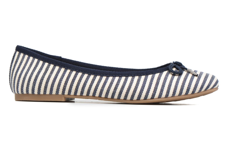 Dahlia Navy stripes