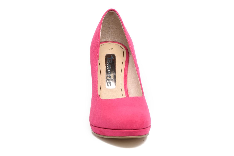 Escarpins Tamaris Freesia Rose vue portées chaussures