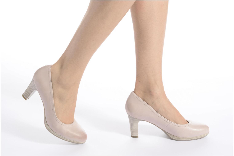 Zapatos de tacón Tamaris Fuchsia Rosa vista de abajo