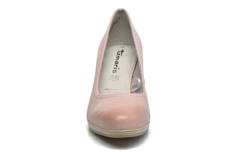 Zapatos de tacón Tamaris Fuchsia Rosa vista del modelo