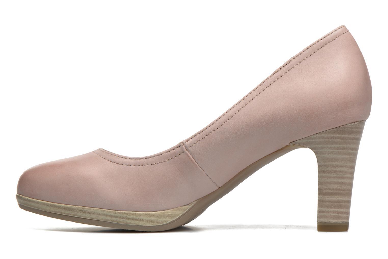 Zapatos de tacón Tamaris Fuchsia Rosa vista de frente