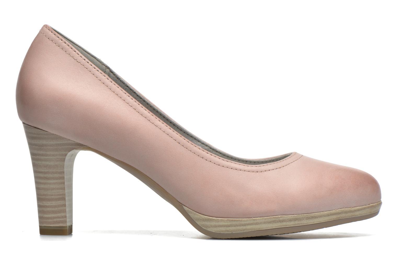 Zapatos de tacón Tamaris Fuchsia Rosa vistra trasera
