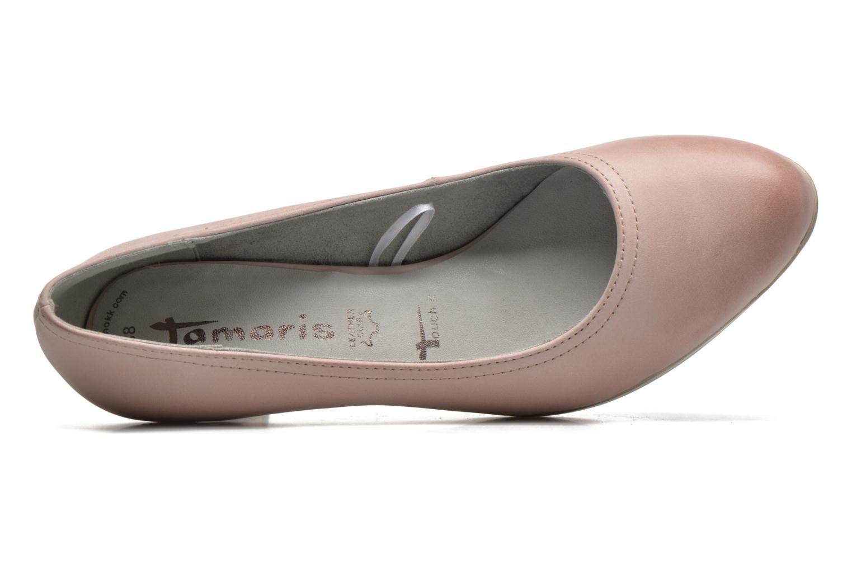Zapatos de tacón Tamaris Fuchsia Rosa vista lateral izquierda