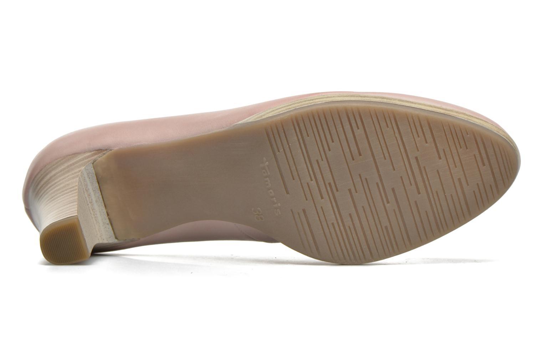 Zapatos de tacón Tamaris Fuchsia Rosa vista de arriba