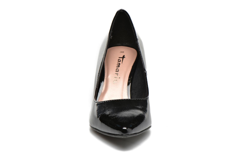 Høje hæle Tamaris Kaly Sort se skoene på