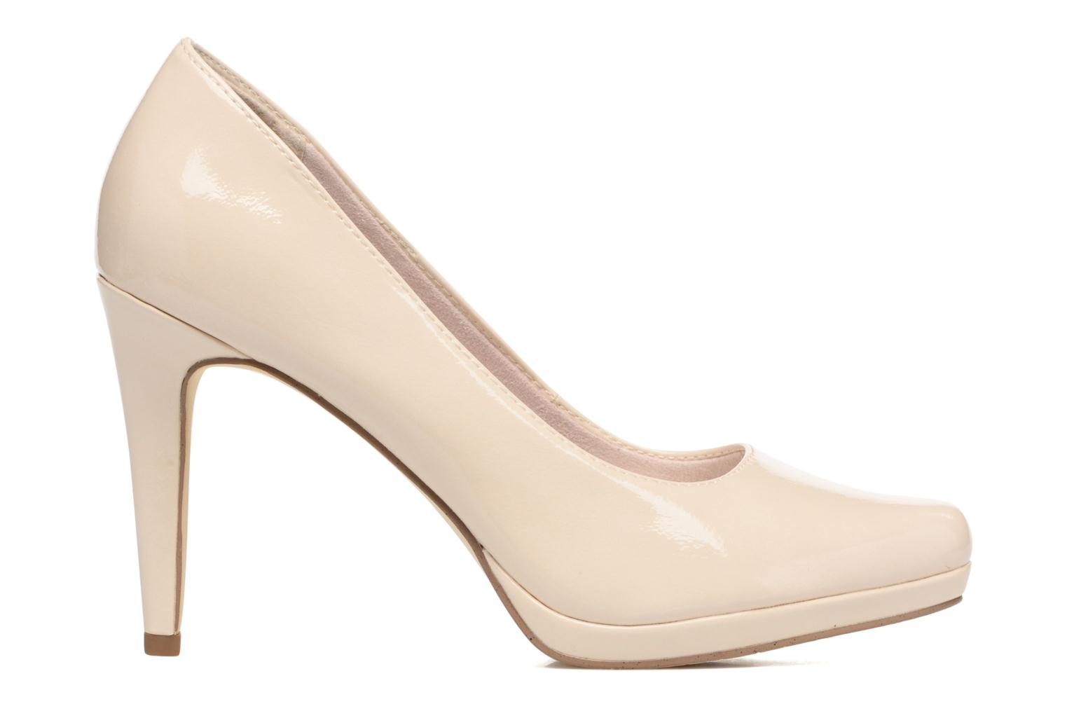 High heels Tamaris Celia Beige back view