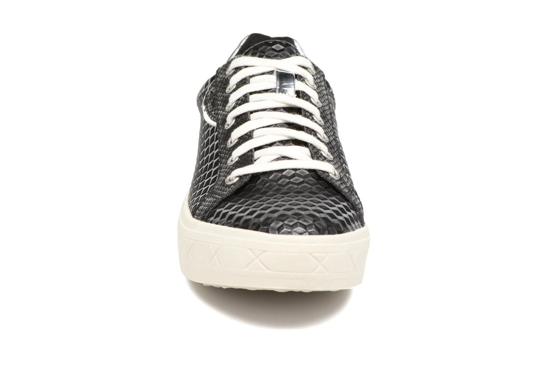 Baskets Tamaris Myosotis Noir vue portées chaussures