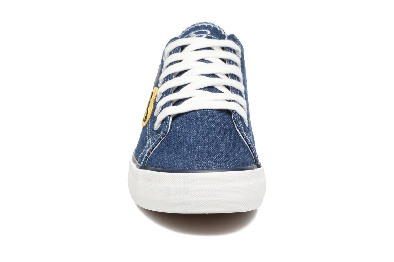 Baskets Tamaris Palmier Bleu vue portées chaussures