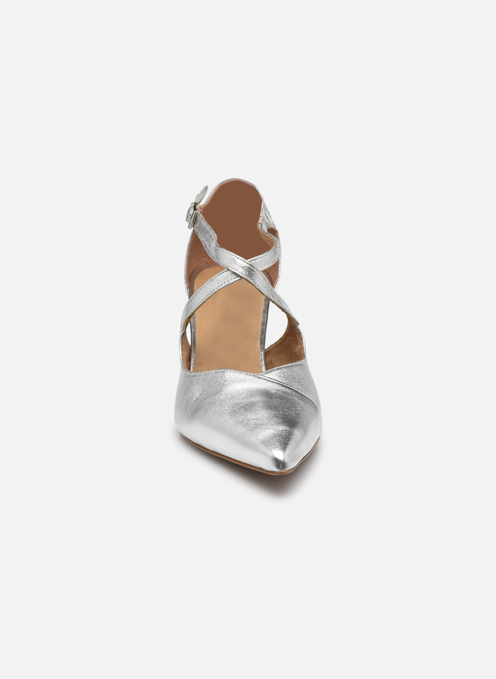 Escarpins Tamaris Volubilis Argent vue portées chaussures