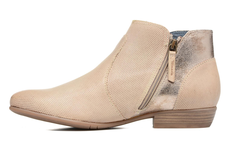 Bottines et boots Tamaris Esparcette Beige vue face