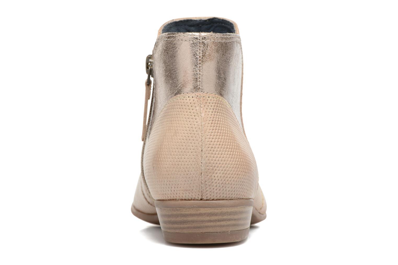 Bottines et boots Tamaris Esparcette Beige vue droite