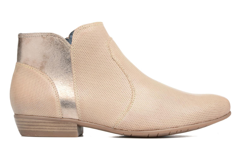 Bottines et boots Tamaris Esparcette Beige vue derrière