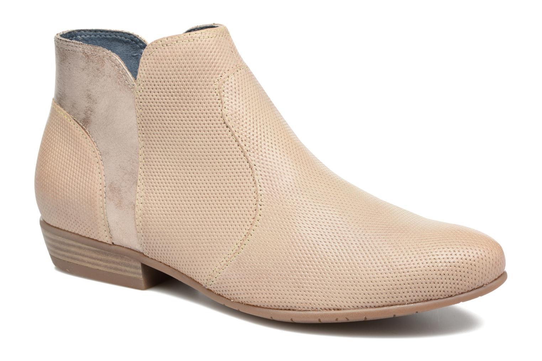 Bottines et boots Tamaris Esparcette Beige vue détail/paire