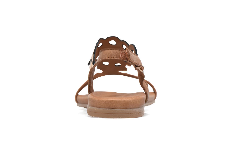 Sandales et nu-pieds Tamaris Liseron Marron vue droite