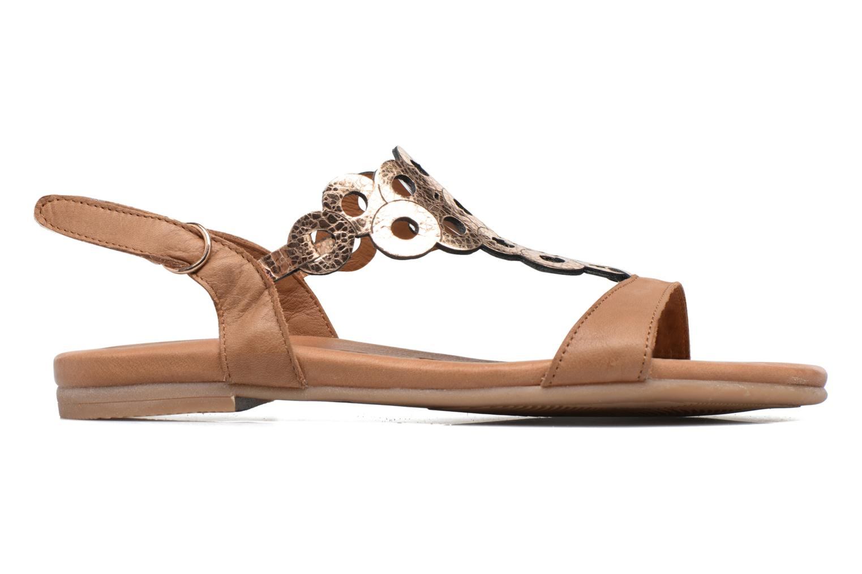 Sandales et nu-pieds Tamaris Liseron Marron vue derrière