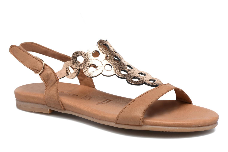 Sandales et nu-pieds Tamaris Liseron Marron vue détail/paire