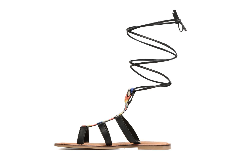 Sandales et nu-pieds Tamaris Réséda Noir vue face