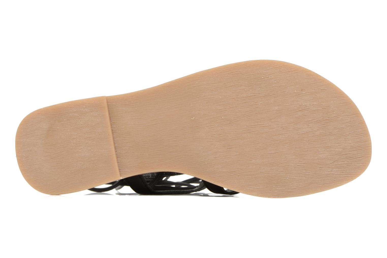 Sandales et nu-pieds Tamaris Réséda Noir vue haut