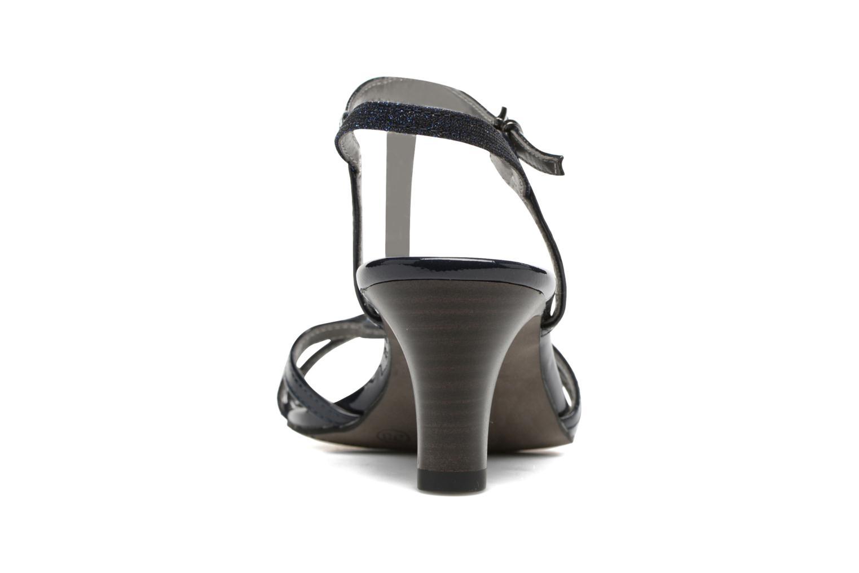 Sandales et nu-pieds Tamaris Carline Bleu vue droite