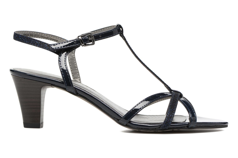 Sandales et nu-pieds Tamaris Carline Bleu vue derrière