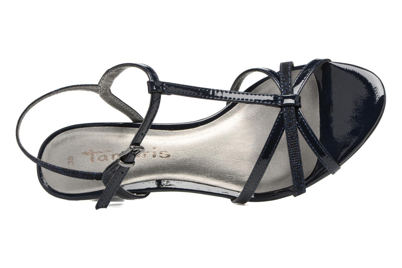 Sandales et nu-pieds Tamaris Carline Bleu vue gauche