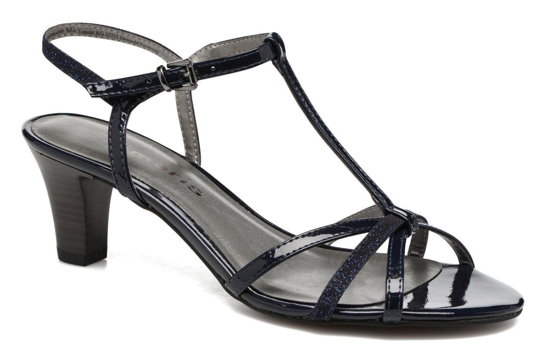 Sandales et nu-pieds Tamaris Carline Bleu vue détail/paire