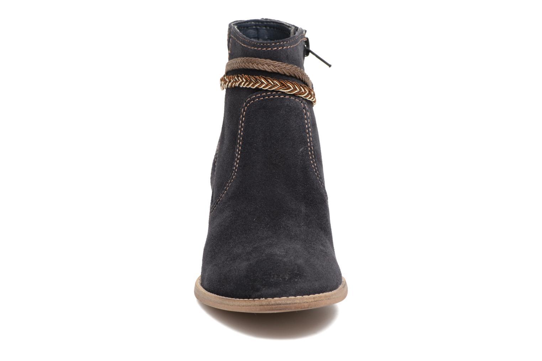 Bottines et boots Tamaris Jarosse Bleu vue portées chaussures