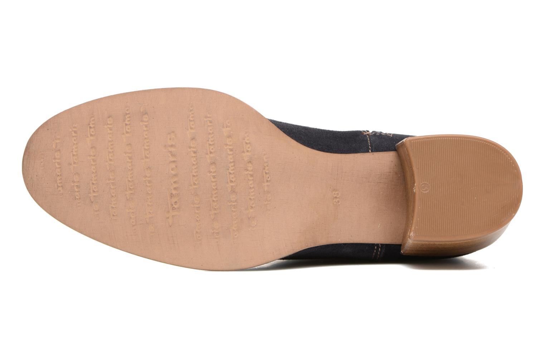 Bottines et boots Tamaris Jarosse Bleu vue haut