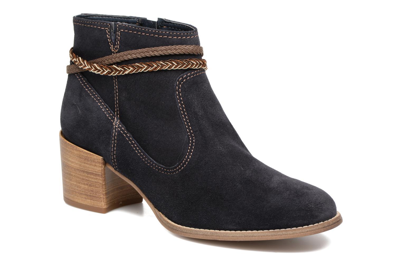 Bottines et boots Tamaris Jarosse Bleu vue détail/paire