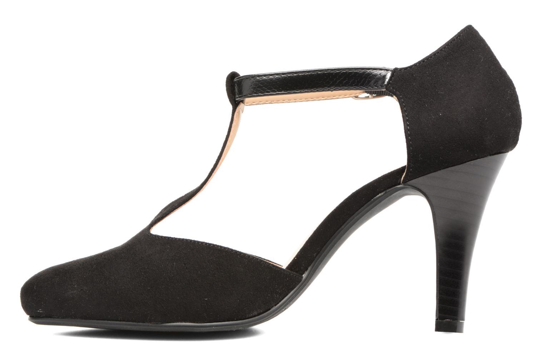 Zapatos de tacón Divine Factory Dock Negro vista de frente