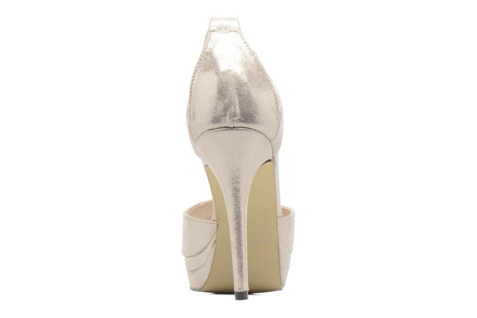 High heels Menbur ACEBO Bronze and Gold view from the right