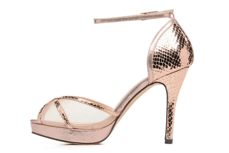 Sandales et nu-pieds Menbur TIFLIS 2 Or et bronze vue face