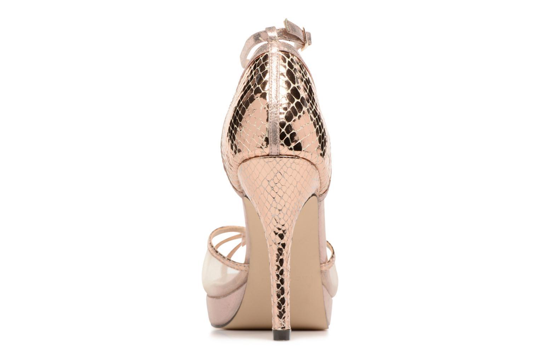 Sandales et nu-pieds Menbur TIFLIS 2 Or et bronze vue droite