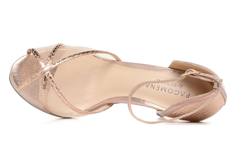 Sandales et nu-pieds Menbur TIFLIS 2 Or et bronze vue gauche