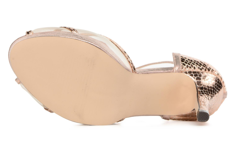 Sandales et nu-pieds Menbur TIFLIS 2 Or et bronze vue haut