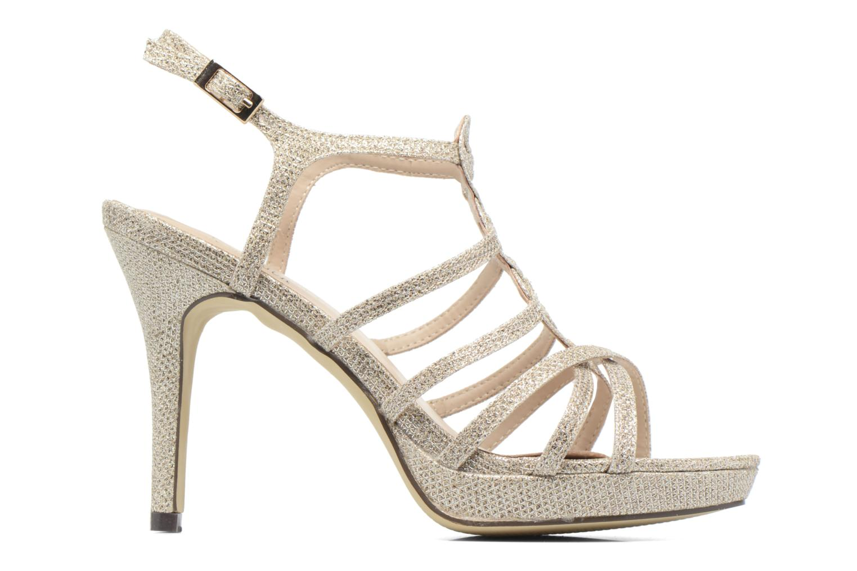 Sandales et nu-pieds Menbur BEGONIA Or et bronze vue derrière