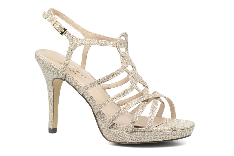 Sandales et nu-pieds Menbur BEGONIA Or et bronze vue détail/paire