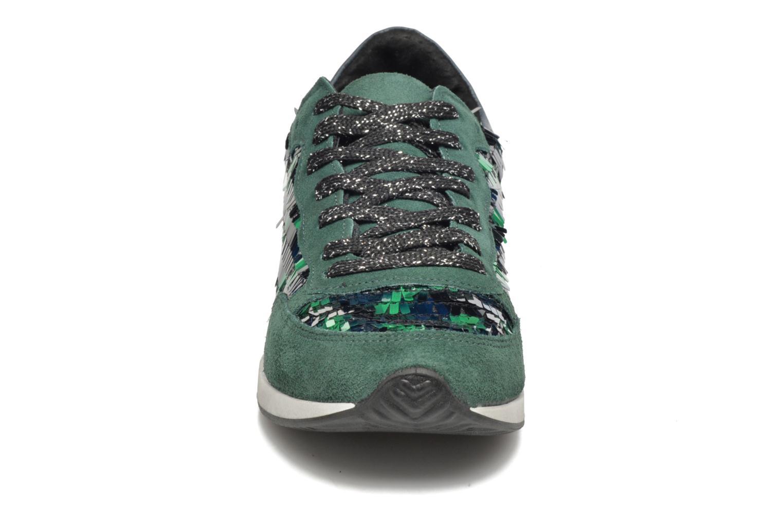 Baskets Ippon Vintage Run Luxury Bleu vue portées chaussures