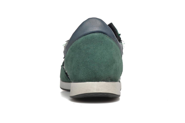 Baskets Ippon Vintage Run Luxury Bleu vue droite