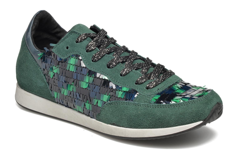 Sneakers Ippon Vintage Run Luxury Blå detaljeret billede af skoene