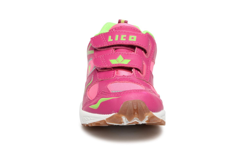 Baskets LICO Bob V Rose vue portées chaussures