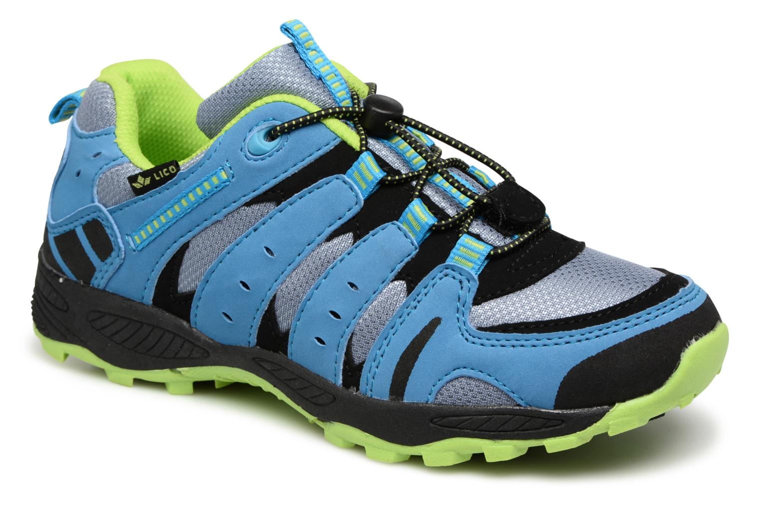 Trainers LICO Fremont Blue detailed view/ Pair view
